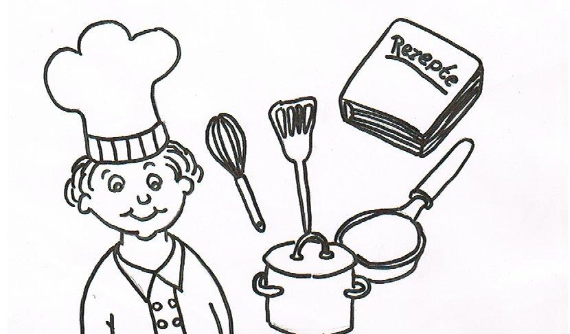 Ein rätsel für senioren zum thema kochen