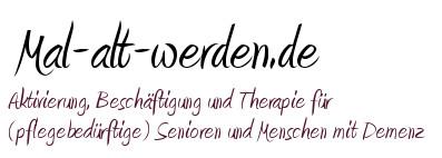Beschäftigung, Aktivierung und Therapie für Senioren