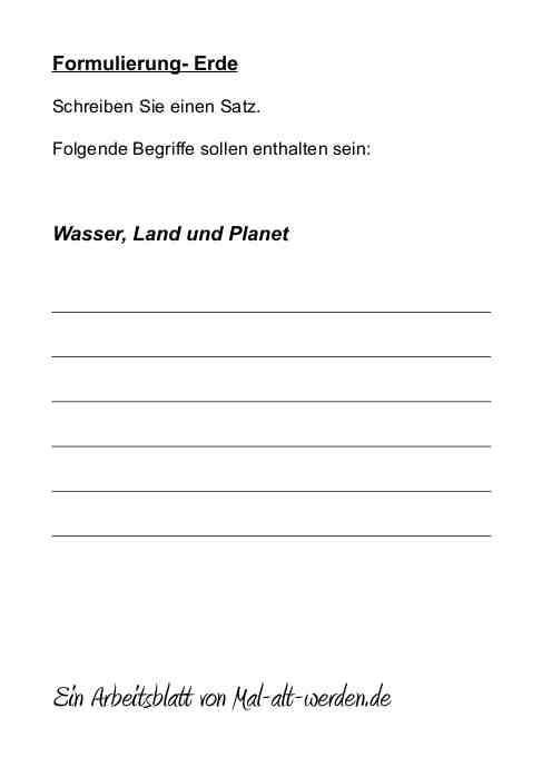 arbeitsblatt-formulierung-erde