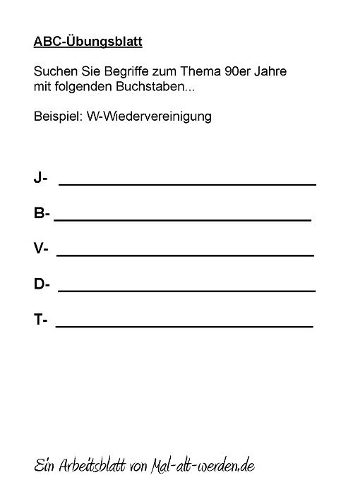abc-arbeitsblatt-90er jahre
