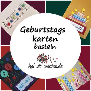 Geburtstagskarten Basteln Mit Kostenlosen Ideen Und Anleitungen