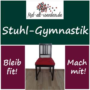 Stuhl Gymnastik. Kostenlose Übungen und Ideen die