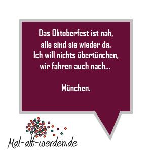 München übertünchen Ein Reimrätsel Für Das Oktoberfest