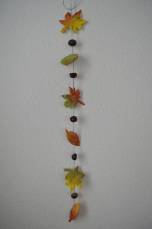 Salzteig Backen Ein Blättermobile Für Den Herbst