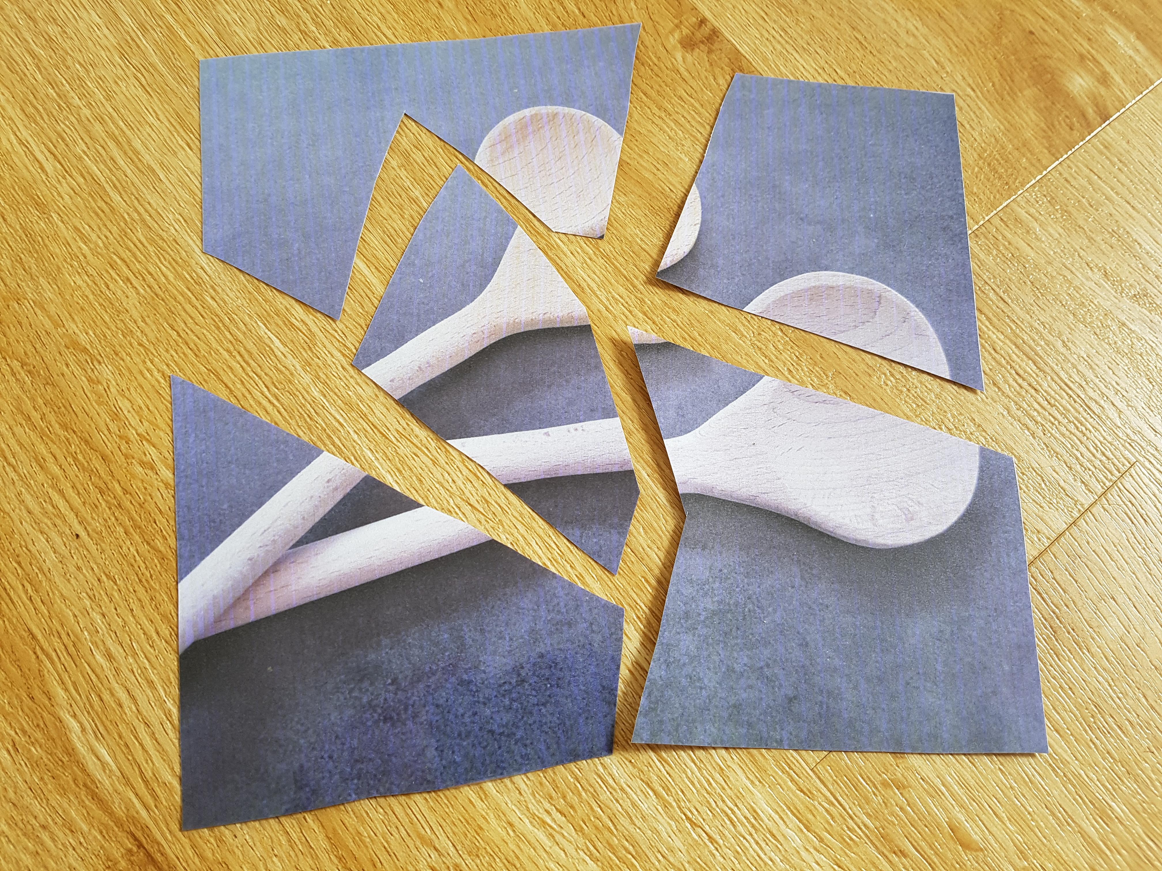 puzzle selbst gestalten mit fotos: kochlöffel-puzzle!