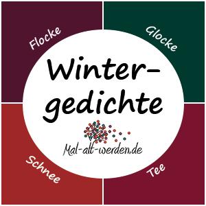 Gedichte winter klassisch