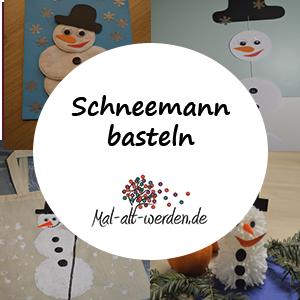 Schneemann Basteln Fur Alt Und Jung Mit Wolle Watte Waschlappen