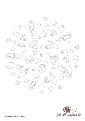 Scallop Seashell With Pearl Stock Vector Adobe Stock